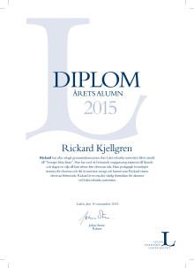 Rickard Kjellgren, Sveriges bästa lärare, prisas av Luleå teknsika universitet