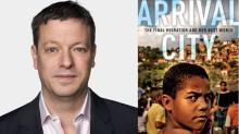 Idag 22 januari. Bo. Nu. Då: Städer och migration. Doug Saunders föreläser om migration och städer.
