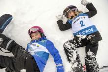 Fjärdeklassare i Vilhelmina får en dag på snö