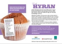 Välkommen till Cafe Hyran under Almedalsveckan