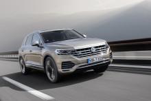 Världspremiär i Genève för Touareg V8 TDI – Volkswagens nya flaggskepp