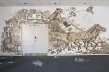 Cubansk H.C. Andersen-kunst pryder nu Scandics hotel i Odense