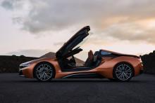 Helt ny BMW i8 Roadster og opdateret BMW i8 Coupé