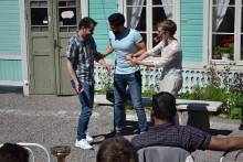 Möjlighet för SFI-elever att lära sig svenska språket genom konst och teater
