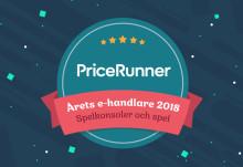 Webhallen: Årets e-handlare 2018 inom Spelkonsoler och Spel!