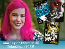 Fantasyförfattarinnan Laini Taylor kommer till Bokmässan i Göteborg!