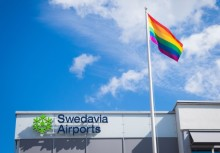 Swedavia expands collaboration with Stockholm Pride