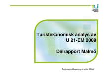 U21-EM i fotboll: Delrapport Malmö