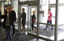 Nya studenter välkomnades på Högskolan Väst