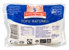 Kung Markattas Naturella tofu - nu Fairtrade-märkt
