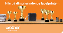 Brother scorer Good Design Awards i kategorierne print, scan og labelprint