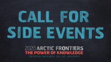 Call for Side events at  Arctic Frontiers 2020