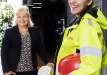Ikano Bostad vinner Unionens jämställdhetspris Guldstegen 2019