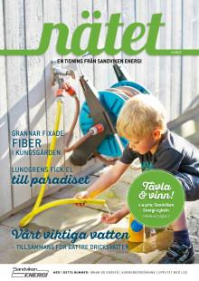 Nätet - en tidning från Sandviken Energi, nummer 1 år 2017