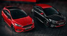 A Ford a nyílt héten bemutatja a stílusos és sportos Focus Red&Black Edition modellváltozatokat