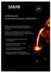 Informationsblad om projekt Hydrofluss