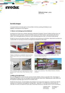 Inredia:images - info om bilder och skisser som beskriver Inrediahuset och Inrediaprojektet