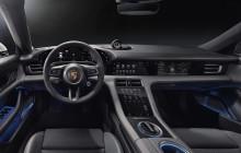 Interiören i Porsche Taycan är digital, tydlig och hållbar