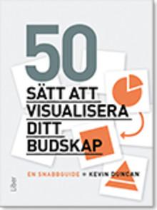 50 sätt att visualisera ditt budskap!
