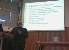 Välbesökt seminarium om gängkriminalitet
