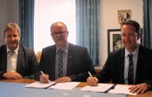 Schauenstein und Bayernwerk verlängern ihre Partnerschaft