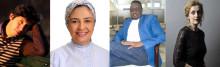 Fyra internationella författare i samtal på Stadsbiblioteket