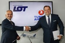Turkish Airlines och LOT förbereder strategiskt partnerskap för framtida joint venture.
