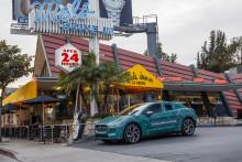 Jaguar I-PACE gennemfører afsluttende tests i USA