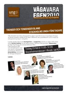 Inbjudan till paneldiskussion 23 feb kl 11:00-12:00