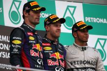 Vettel vann i Malaysia efter att ha använt tre av Pirellis gummiblandningar