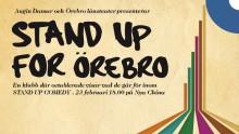 Örebro länsteater startar stand up-klubb och söker oprövade talanger.
