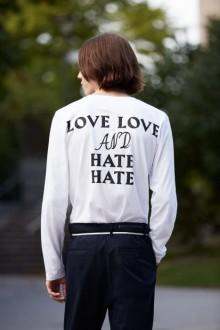 Nyutexaminerad från Beckmans sprider kärlek i #hatahat-kampanjen