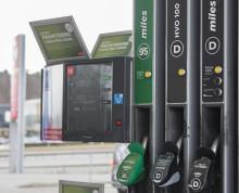 Nu utökar Circle K möjligheten att tanka HVO100 även för personbilar i Stockholmsområdet