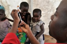 UK's leading health charity to assist 100,000 in DR Congo
