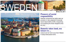 2011 Sweden Report by South China Morning Post (SCMP) Magazines