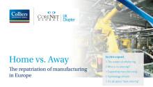 """Återflytt av tillverkning till Europa utgör fortfarande undantagen för flera multinationella företag som föredrar """"bestshoring"""" i tillväxtekonomier"""