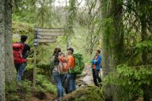Frövi-elever filmar äventyr på Bergslagsleden