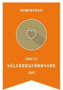 Praktikertjänst N.Ä.R.A. nominerade till Årets välfärdsförnyare på Stora samhällsgalan