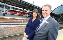 CLAIRE PERRY CELEBRATES NEWCASTLE STATION IMPROVEMENTS