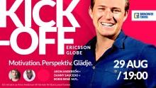 Kivras hjälte Aron till Globen - bjuder Kivra-vänner på specialpris
