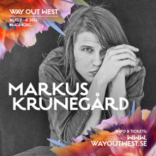 Markus Krunegård är klar för Way Out West!