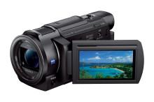 Capte cada detalhe da sua vida em 4K  com a nova Handycam® compacta da Sony