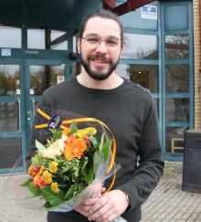 Han är Årets pedagog i Vellinge kommun
