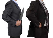 Protect your company from back stabbing employees -- here's  how.