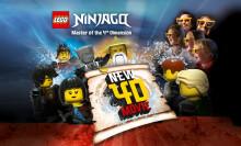 PRESSEMEDDELELSE: Danmarkspremiere på ny LEGO® NINJAGO® 4D-film i LEGOLAND®