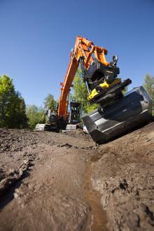 Det nye styresystem SS9-2 gør gravearbejdet mere sikkert