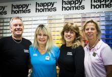 Happy Homes Färgtrend flyttar till handelshuset Vimpeln