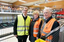 Martinsons tar sikte på framtiden med nyinvigd KL-trälinje