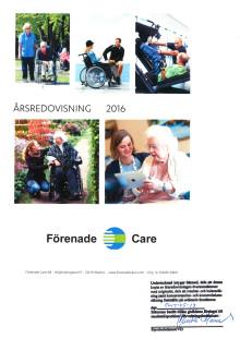 Förenade Care - Årsredovisning 2016