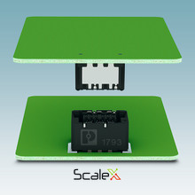 Kompakte stik med et innovativt kontaktsystem